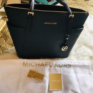 New Michael Kors black tote